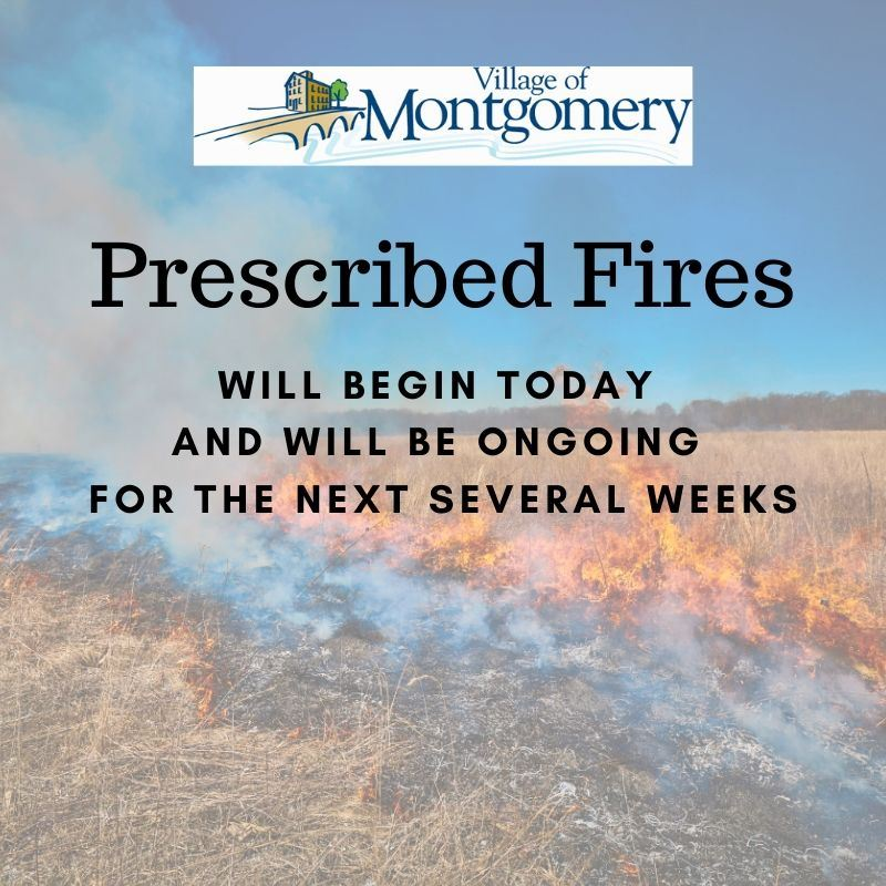 Upcoming Prescribed Fires