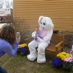 First Easter Bunny visit